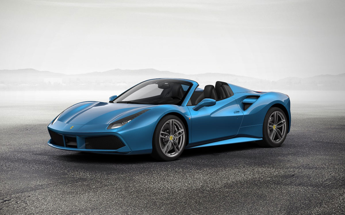 Ferrari-Spider-488